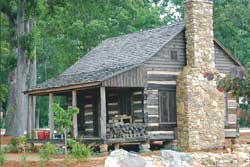 Mauldin Garden Club Log Cabin